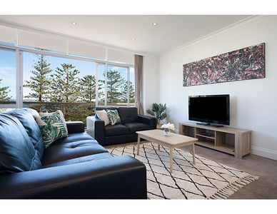 Photo for View Of Manly Pines And Waves From Large Apartment