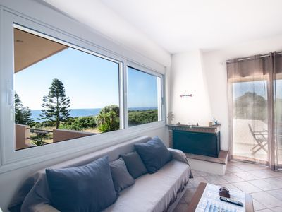"""Photo for SEAFRONT APARTMENT """"NAIADA"""" WITH VIEW OF SUNSET  ΑΜΑ: 36322"""