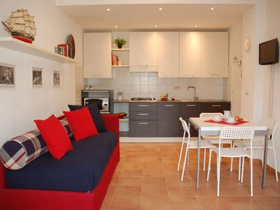 Photo for 1BR Apartment Vacation Rental in Calice Ligure