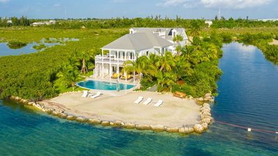 Photo for **VILLA OF THE SETTING SUN @ THE BAY** Waterfront Home & Pool + LAST KEY SERVICES...