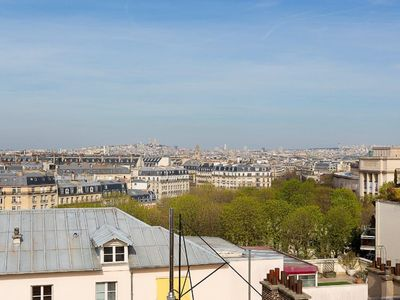 Photo for Apartment with terraces on one level and panoramic views of Paris
