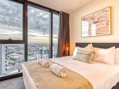 Photo for 3704 - BHB Luxe Southbank 2Bedroom, WiFi, City Views