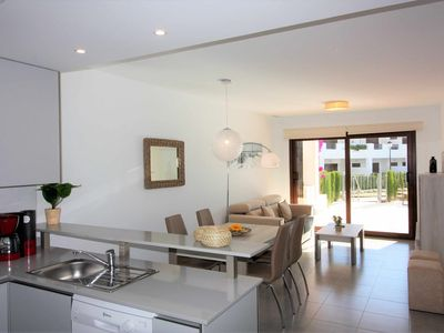 Photo for Casa Laurita, apartment with terrace, garden and communal pool