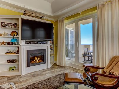 Photo for Unobstructed views of the Atlantic Ocean from this luxury condo with large private balcony.