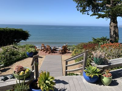 Photo for Dramatic Ocean Views, Steps From Beach