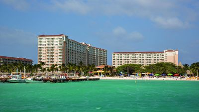 Photo for Marriott Aruba Surf Club 2 bedroom 2 bath licensed broker BBB A+ rated