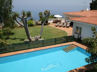 Photo for Luxury Villa, Private Pool, Stunning Sea and Mountain Views