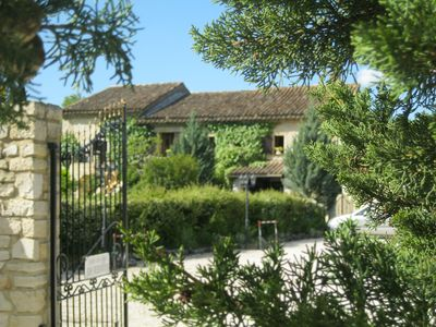 Photo for Mas of charm and very calm any comfort, garden and heated swimming pool of dream.