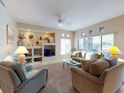 Photo for Comfortable, newly updated condo with shared pool and hot tub!