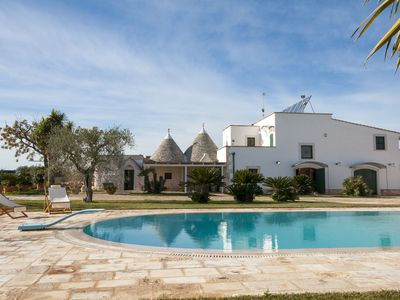 Photo for Trulli with Private Pool in Puglia for 8 people