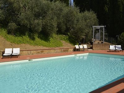 Photo for 2 bedroom Villa, sleeps 4 in Dolciano with Pool and WiFi