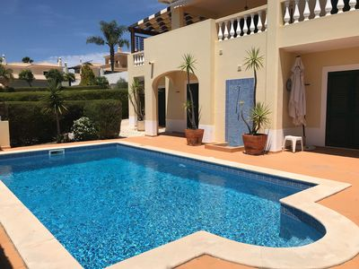 Photo for New Beautiful 4 Bedroom Villa, swimming pool, wifi, close to beach