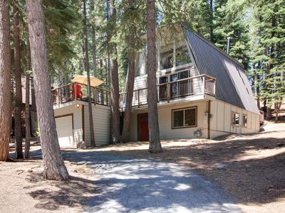 Photo for Open, bright A-frame home with a fun-filled game room & great location