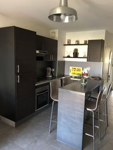 Photo for Residence le clos des oliviers, T2 full downtown and the beach WIFI