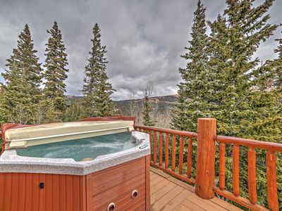 Photo for Alma Cabin w/ Deck & 2 Acres - Surrounded by Mtns!