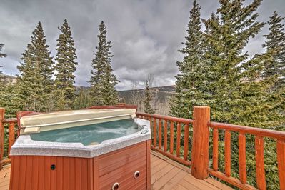 Have the ultimate Alma vacation with this stunning vacation rental cabin.
