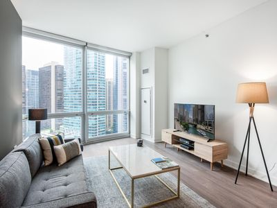 Photo for Homey Streeterville 1BR w/ Sauna + Lounge near Mag Mile by Blueground
