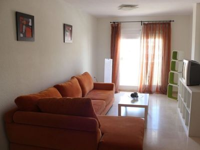 Photo for TORREQUEBRADA PENTHOUSE FOR RENT 2 BEDROOMS, 1 BATHROOM, POOL, RESIDENTIAL AREA