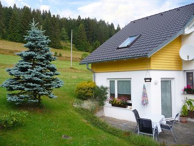 Photo for Apartment 1.1 km from the center of Eisenbach with Parking, Internet, Washing machine, Terrace (86013)