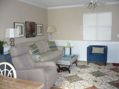 Photo for New And Beautiful--2 Br, 2.5 Bath:  Walk To Village, Pier, And The Beach