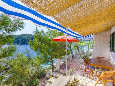 Photo for Apartment Blue (54221-A1) - Vela Luka - island Korcula