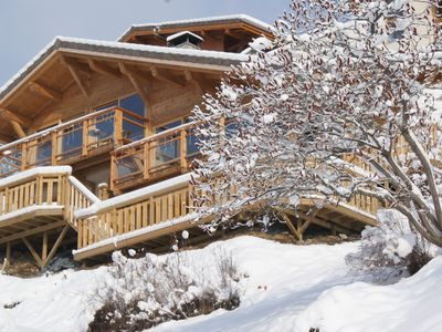 Photo for Fully Catered Chalet with Stunning Views and Hot Tub in Morzine, Portes du Solei