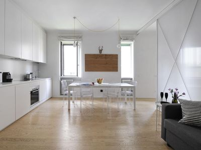 Photo for Carcano apartment in Fiera with WiFi & integrated air conditioning.