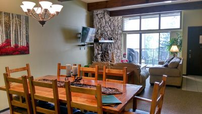 Photo for Spacious Condo w/ FREE WiFi, Parking, Heated Pool, Hot Tubs, Skier Shuttle