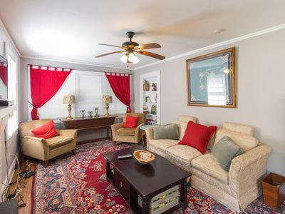 Photo for Greenville's Art District Bungalow, Great for families! Near Swamp Rabbit!