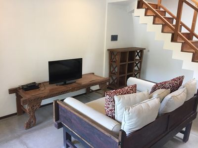 Photo for Luxurious 2 Bdr in a Stylish Canggu Riverside Villa • Hot area • 3 min to beach