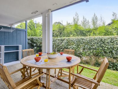 Photo for Lovely 1-bedroom w/ AC and terrace near Biarritz train station - Welkeys