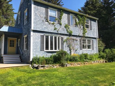 Photo for Charming Coastal Cottage, In-town, Quiet Street, Kid and Pet Friendly