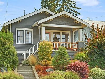 Photo for Room for everyone in the charming Classic Craftsman!