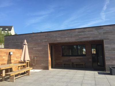 Photo for House Quiet wood 150 m from the sea and coastal paths - Sauna