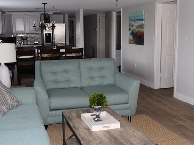 Photo for Beautiful 3 Bedroom 2 Bath Condo just steps from the POOL/HOT TUB/BEACH