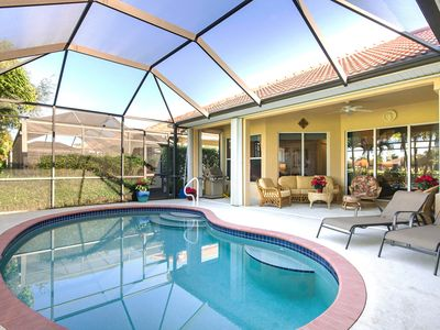 Photo for Naples Golf Course Home, Lely Resort, Pool, Optional Players Club