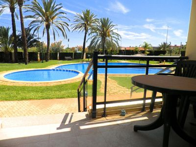 Photo for Apartment with 1 bedroom 100 meters from the beach and 500 meters from Denia