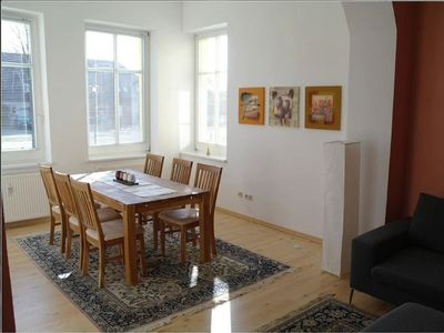Photo for Comfortable apartment (4 stars) near the lake with a large garden