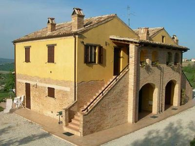 Photo for Holiday apartment Cossignano for 4 persons with 2 bedrooms - Holiday apartment in a farmhouse