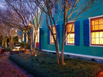 Photo for 3BR/2BA - Stunning 1838 Creole Cottage, Gorgeous Designer Renovation, Hip Local