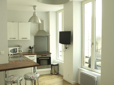 Photo for 1BR Apartment Vacation Rental in La Rochelle, Charente-Maritime