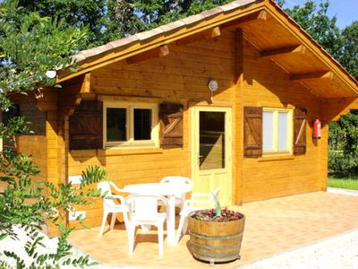 Photo for Camping Fontaine Du Roc *** - Nice Chalet 3 Rooms 5 People