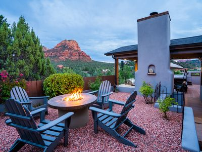Photo for Hiking Trails Home - Panoramic Views Red Rocks/Hot Tub/BBQ