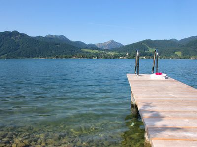 Photo for Dream vacation: lake and mountain views and lake access