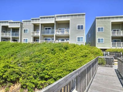 Photo for Beautiful 2 Story, 2 Bedroom/2Bath Oceanfront Condo with POOL-Sleeps 7