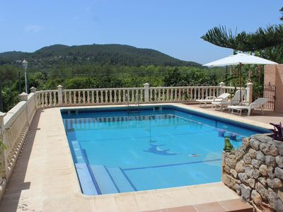 Photo for PRETTY COTTAGE IN ATZARO. POOL, VINEYARDS AND FRUIT TREES NEAR THE SEA