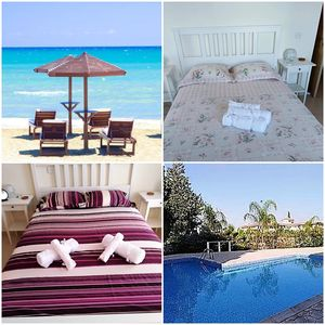 2 Bedroom Modern Apartment With Communal Pool 10 Minutes From beach Tersefanou