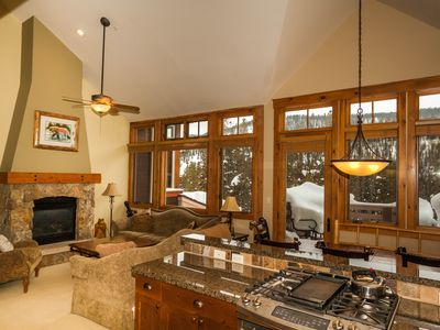 Photo for 3-Bedroom Townhouse, Large Deck w/Mountain Views, Private Garage & Laundry