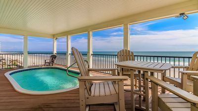 Photo for **DISCOUNTS UP TO 40% OFF** FREE LINENS! Oceanfront, Private Pool, Pet Friendly
