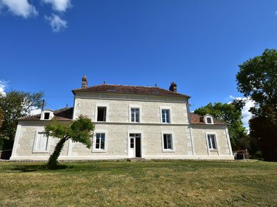 Photo for Cozy Mansion in Montreuil-la-Cambe with Garden